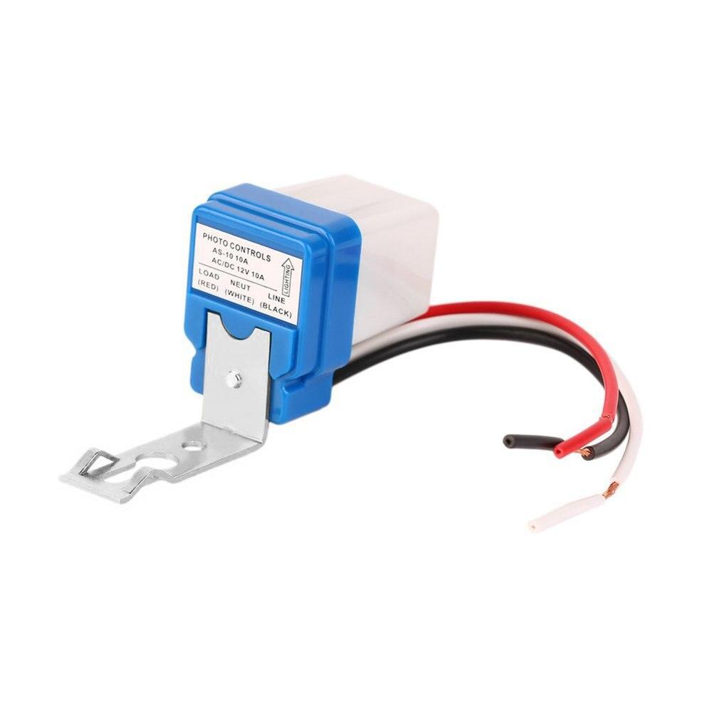 1 шт. Высокое качество 12В 10А авто AC DC On Off фотоэлемент уличный светильник переключатель датчика оптовая продажа