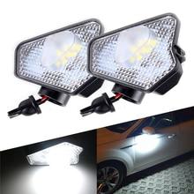 2x módulo de luz LED debajo del espejo lateral, Puddle, para mercedes-benz W176 W242 W246 Baureihe 204 212 221 117 C219 X156 X204