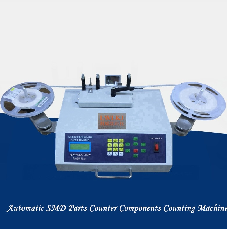 Máquina de conteo de virutas detector de fugas contador de piezas SMD totalmente automático IC máquina de conteo automático