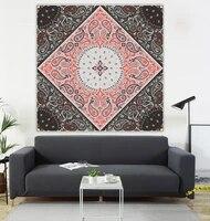 mandala hanging picture mandala flag mandala 100100cm datura tapestry