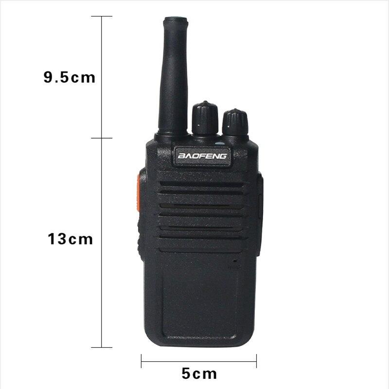 Портативная рация BaoFeng, высокомощная радиостанция УВЧ 400-470 МГц, 16 каналов