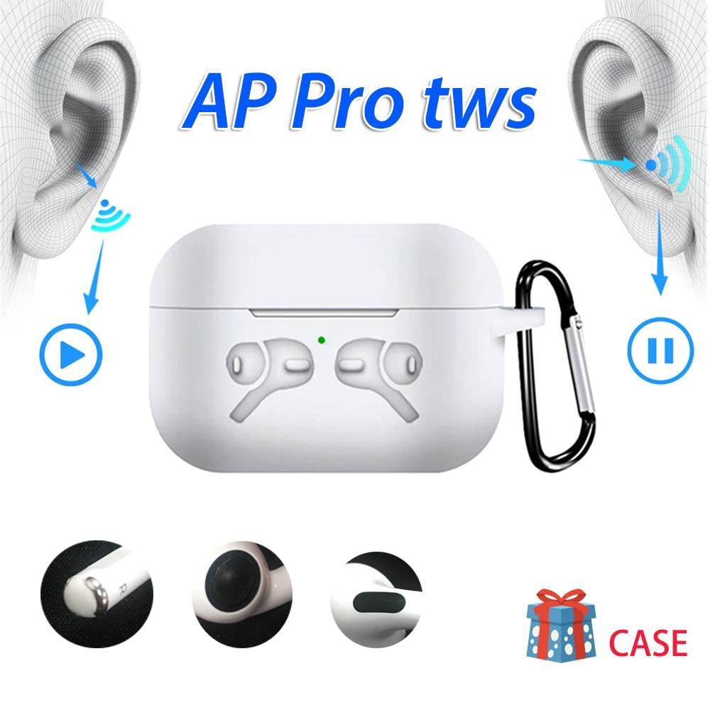 Original AP PRO TWS auricular inalámbrico Bluetooth Ari 3 Pro 11 clon con micrófono bajo auriculares deportivos no i500 i9000 i10000 MX H1