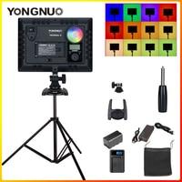 Светодиодная лампа для видеосъемки YONGNUO YN300AIR II RGB регулируемый светодиодный Камера видео светильник дополнительный Батарея с Зарядное устр...