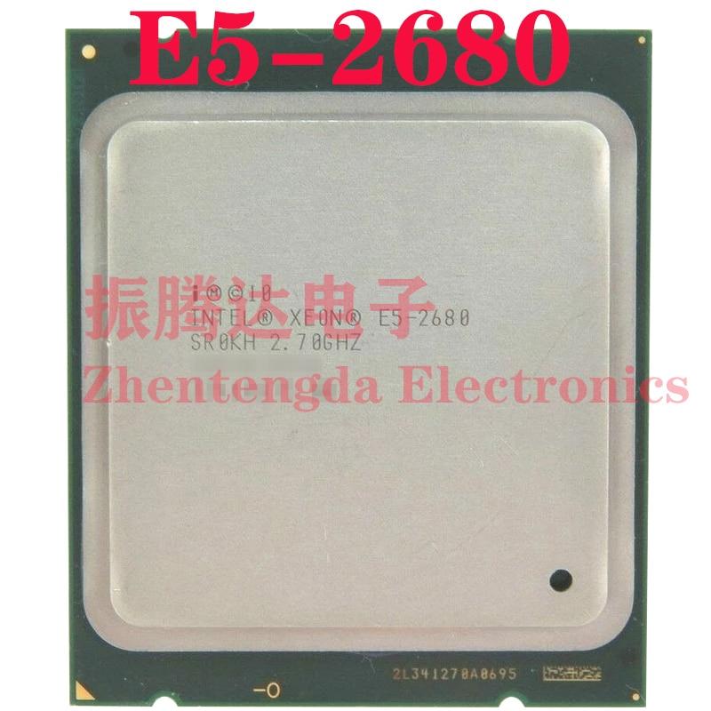 Intel Xeon E5-2680 CPU 2.7GHz L3-20MB 10 Core 20 Thread LGA 2011 E5-2680 CPU Processor
