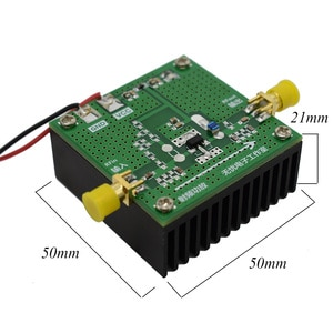 Image 4 - Lusya 400 МГц 4 ГГц 1 Вт усилитель мощности макетная плата TQP7M9103 с теплоотводом Поддержка непрерывной работы A8 013
