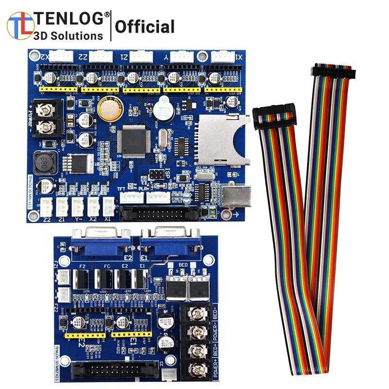 TENLOG 3D طابعة V2.1 اللوحة متوافق TENLOG 3D طابعة TL-D3 برو الأيدي 2 TL-D5 TL-D6