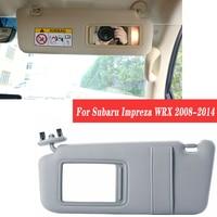 1PCS For Subaru Impreza WRX 2008 2009 2010 2011 2012 2013 2014 Car Interior Front Sun Visor Panel Sunvisor Makeup Mirror