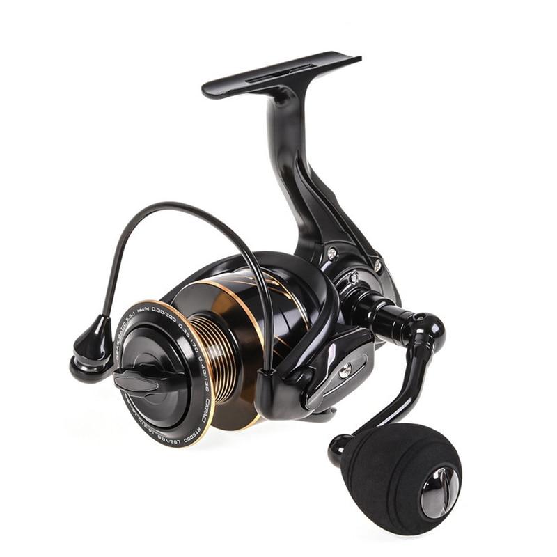 New Metal Spinning Fishing Reel RT1000-5000 series 13 + 1BB Fishing Reel Metal Rocker Cup Sea Spinning Wheel Reel Fishing Gear