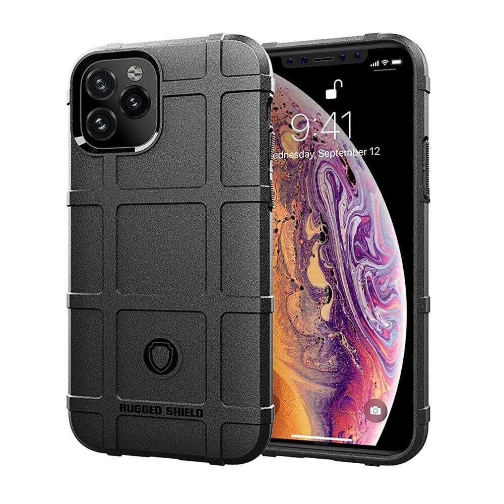 2019 силиконовые резиновые прочные Защитные чехлы для телефонов iPhone 11 Pro Max XR XS Max 8 7 6s Plus, роскошные Противоударные Защитные чехлы