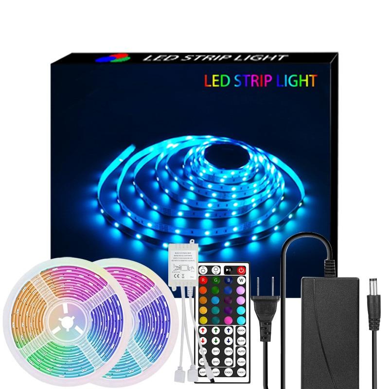 o jogo da cor de 5050 smd conduziu a luz flexivel impermeavel do diodo emissor de