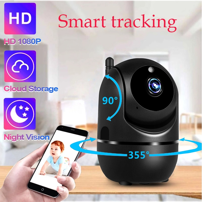 AliExpress - IP Camera Original Smart home 1080P Cloud HD Tracking Baby Monitor Night Security video Surveillance Camera WiFi Camera outdoor