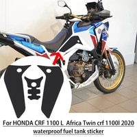 non slip side fuel tank pad waterproof fuel tank stickers for honda crf 1100 l africa twin adventure stickers crf 1100l adv 2020