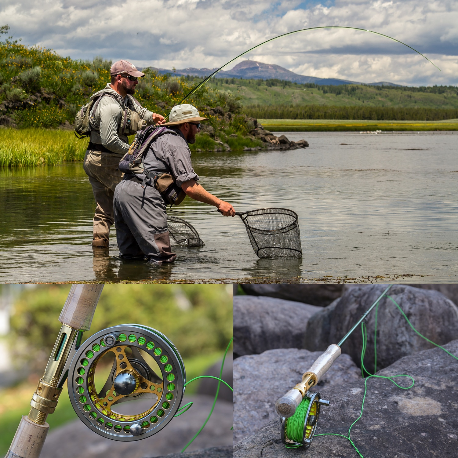 7/8 Fly Fishing Combo Portable 4 Sections Carbon Fiber Fishing Rod 2+1BB Fly Reel Line Lure Bag Full Accessories Set enlarge