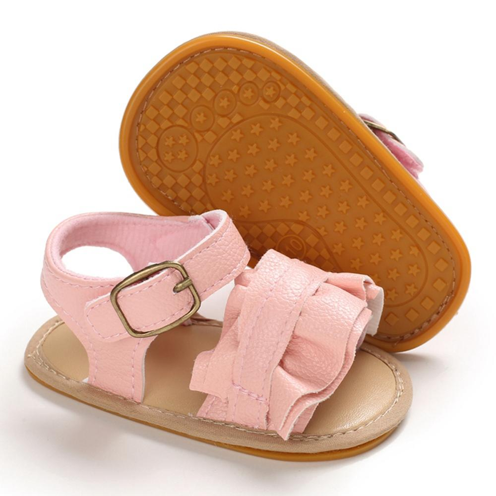 Summer Baby Boys Girls Soft Soled PU Breathable Bottom Toddler Sandals New