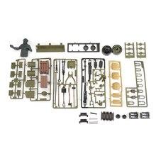 FBIL-pour 1/16 Henglong réservoir 3898-1 états-unis Sherman M4A3 RC réservoir en plastique soldat accessoires pièces sac