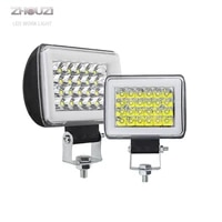 12v 72w blue red yellow aperture led work light bar for off road truck atv suv 4wd 4x4 boat tractor motorcycle flashing lights