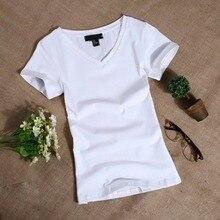 MRMT 2019 Camiseta de manga corta de mujer delgada de Color sólido Simple puro camiseta de mujer para mujer T camisas