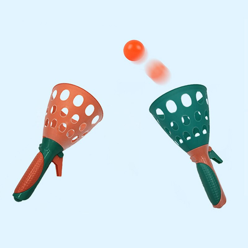 Juguetes interactivos para padres e hijos, pelota de jardín de infancia para exteriores, pelota elástica para lanzar trasero en interiores, equipo deportivo para niños