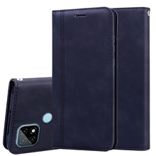 For OPPO Realme C21 Case Phone Cover Magnet PU Leather Flip Back Case For Realme C21 C 21 чехол