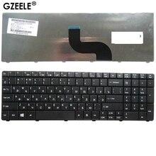 GZEELE Nouvelle RU clavier Dordinateur Portable POUR Acer Aspire E1-571G E1-531 E1-531G E1 521 531 571 E1-521 E1-571 E1-521G Noir Russe