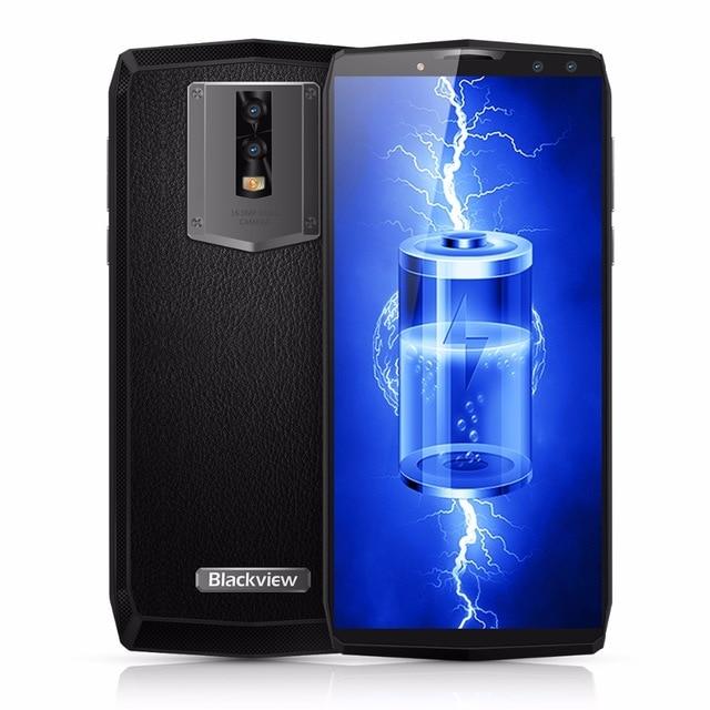 Blackview-هاتف ذكي ، P10000 Pro ، ذاكرة وصول عشوائي 4 جيجابايت ، ROM 64 جيجابايت ، 11000 بوصة ، 5.99 مللي أمبير ، هاتف ذكي ، 4G ، MTK6763 ، ثماني النواة ، Android 7.1 ، OTG