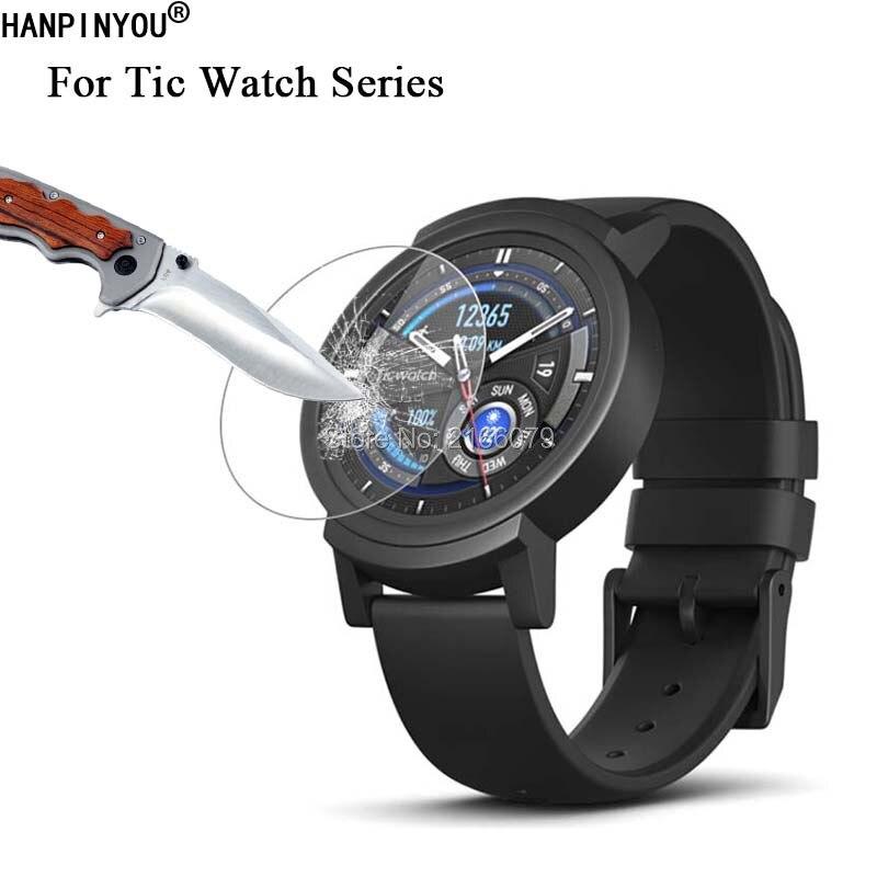 9H 2.5D película protectora de pantalla de vidrio templado para Ticwatch 1 E2 S2 C2 Pro 2nd E S 1st Smart Watch película protectora + herramientas limpias