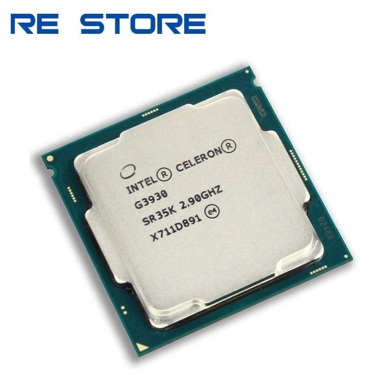 Процессор Intel Celeron G3930 SR35K LGA 2,90, б/у двухъядерный, 2 Мб кэш-памяти, 1151 ГГц