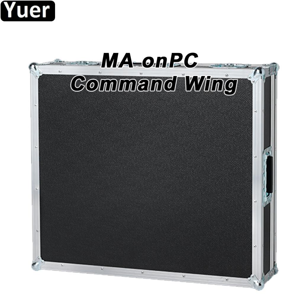 قيادة الجناح MA المرحلة تأثير ضوء onPC DMX512 وحدة التحكم DJ ديسكو تتحرك رئيس ضوء تحكم بار الطرف مصباح موازي المستوى الجدار غسل مصباح