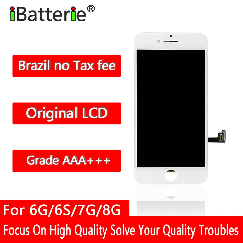 Get 5pcs/lot Original LCD Display For iPhone 6g 6s 7g 8g Touch Screen Digitizer  Assembly Replacement AAA+++ Quality