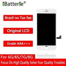 5 TEILE/LOS Original LCD Display Für iPhone 6g 6s 7g 8g Touchscreen Digitizer Montage Ersatz AAA + + + Qualität