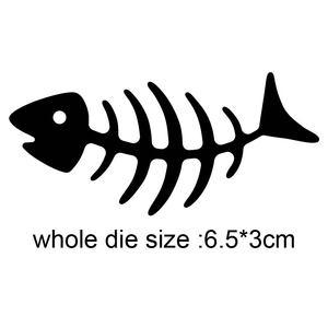 Metal Cutting Dies fish bone 2020 new arrival craft die Stencil For DIY Scrapbooking Paper/photo Cards Embossing Dies