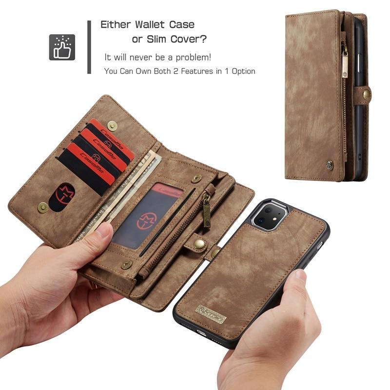 Caso de luxo para o iphone xs x 11 pro max caso do telefone de couro da aleta carteira volta capas caso magnético para o iphone xr coque hoesje capa