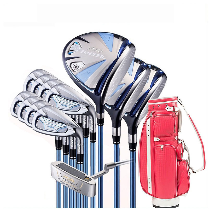 Golf clubs HONMA BEZEAL 535 ladies golf club set HONMA BEZEAL 535 golf club set with golf bag