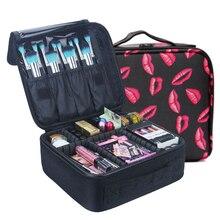QEHIIE marque cosmétique étui de haute qualité Oxford tissu cosmétique sac organisateur de voyage femmes esthéticienne grande capacité sac de maquillage