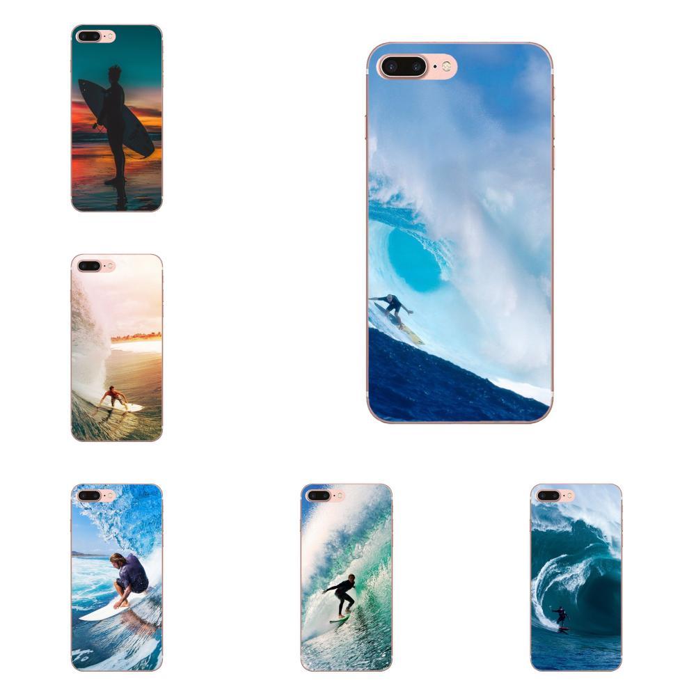 Surf Tumblr personalizado para Huawei P7 P8 P9 P10 P20 P30 Lite Mini Plus Pro Y9 primer P Smart Z 2018 2019 suave del teléfono de la impresión