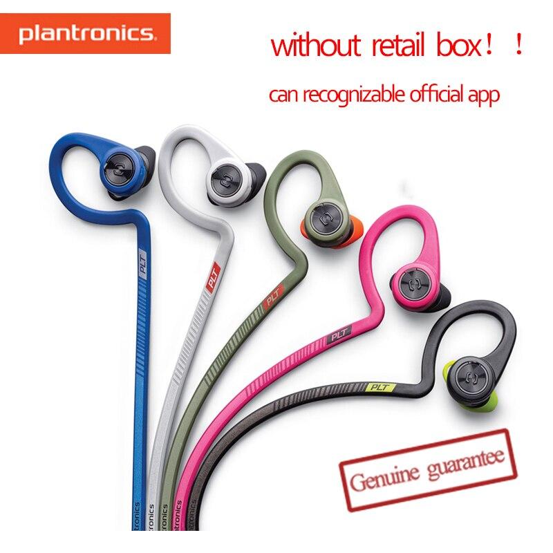 Plantronics-auriculares internos FIT2/Fit 2100, Bluetooth, estéreo, cómodas, resistentes a Voor, teléfono inteligente