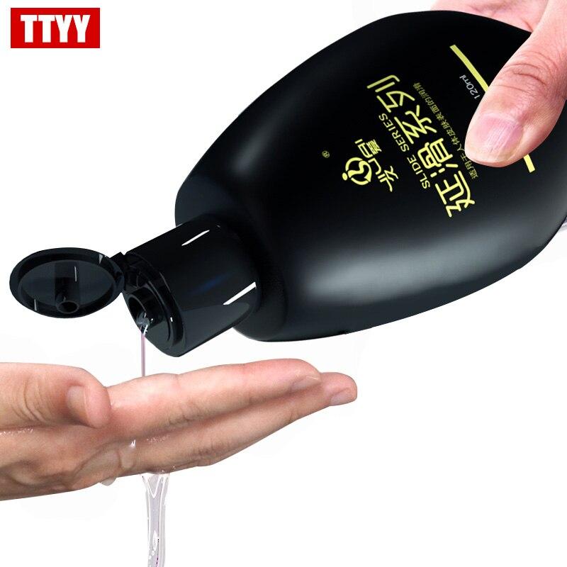 65ML 120ML lubrifiant pour sexe Dick lubrifiant adulte sexe lubrifiants sexuels pour vagin Oral Anal sexe Gay huile