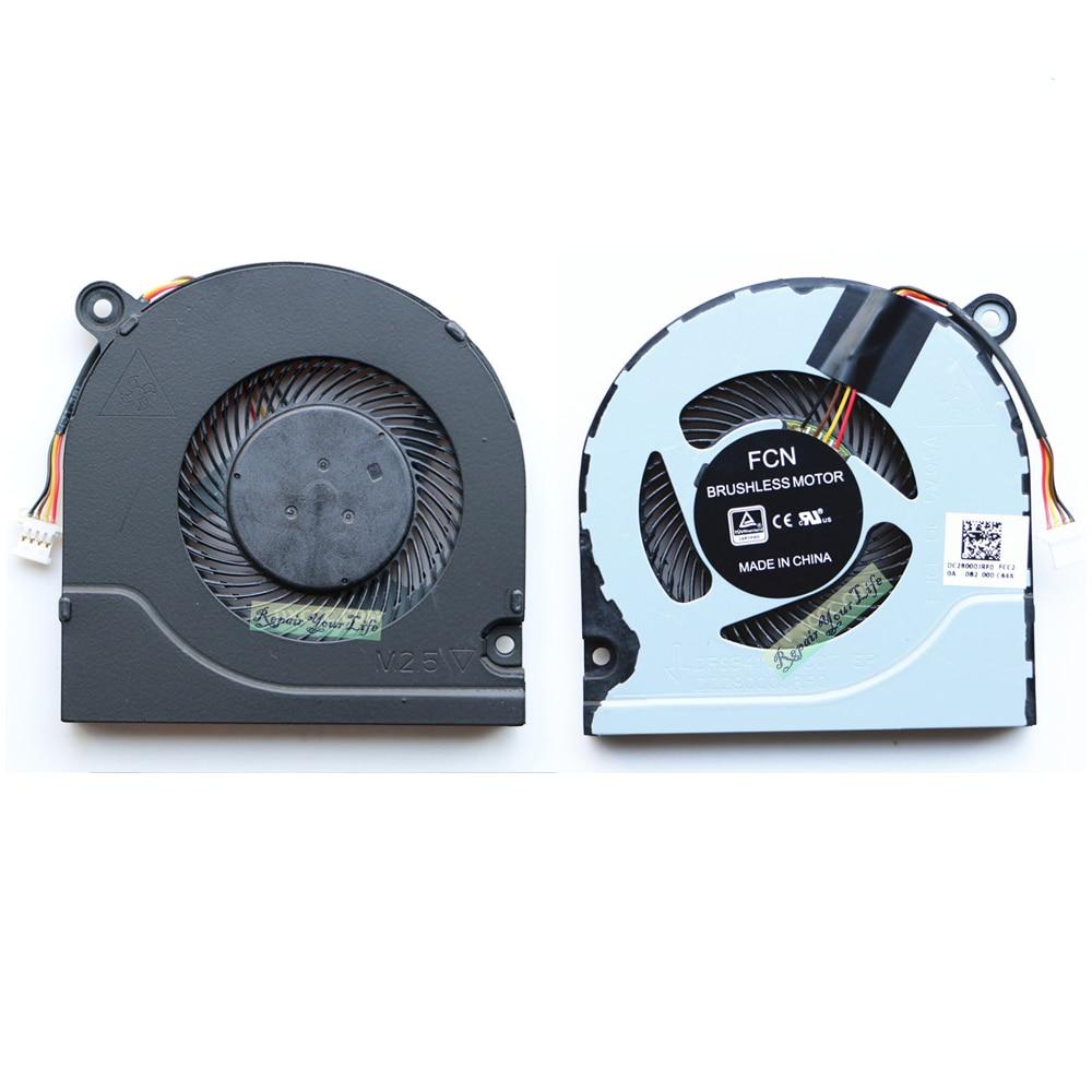 Фото - Кулер для процессора, кулер для ноутбука, для Acer Nitro 5, AN515, 51, 52, AN515-53, AN515-42, G3-571, кулеры DC28000JRF0 original new laptop lcd back cover front bezel hinges for acer predator nitro 5 an515 42 an515 41 an515 51 an515 53