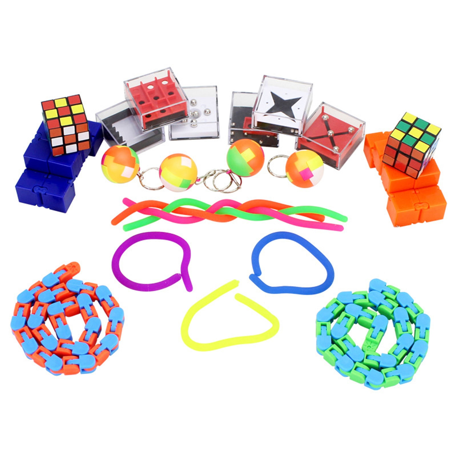 24 Pcs Sensory Toy Set Calm Toys And Stress Relief Toys For People With Add Or ADHD And OCD Or High Stress/Anxiety Levels enlarge