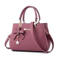 messenger bag women 2021 elegant shoulder bag women designer luxury handbags women bags plum bow sweet messenger crossbody bag