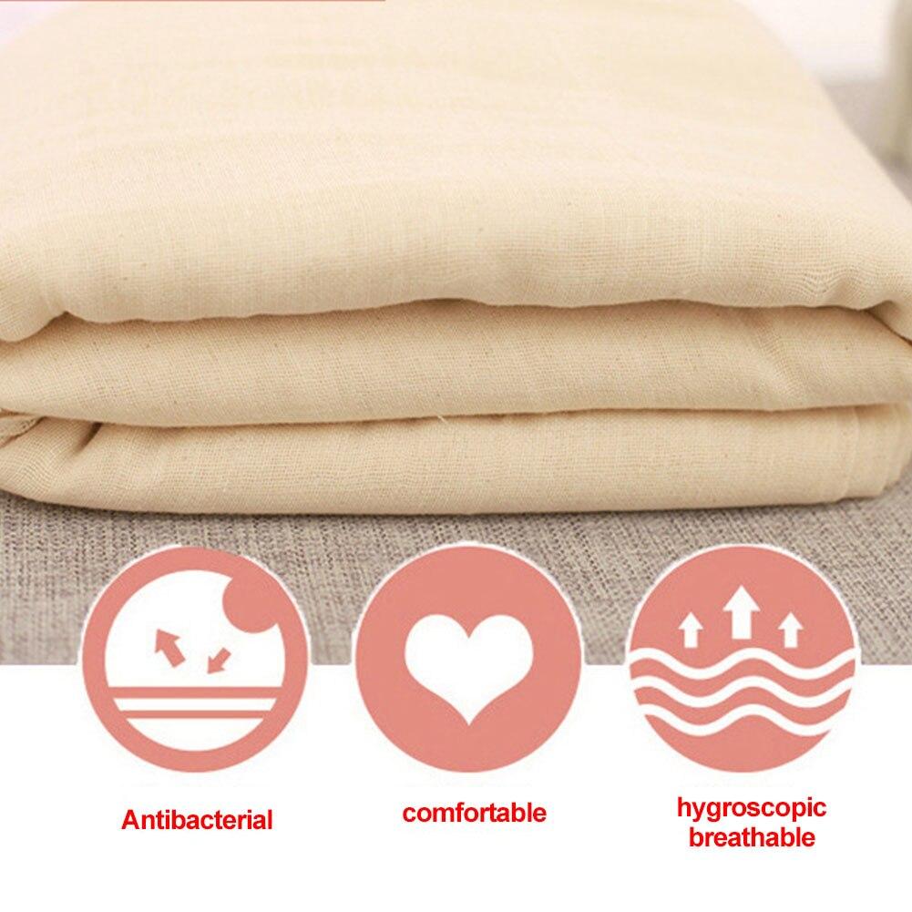 Hilo de cocina reutilizable de 1,5 m, tela de algodón, paño de queso Natural, filtro de gasa sin blanquear, herramientas de cocina ecológicas para pan de frijol
