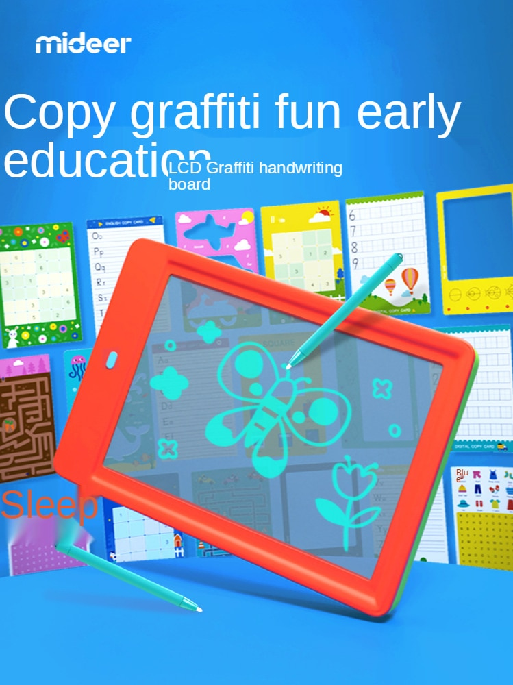 Детская доска для рисования с жидкими кристаллами, маленький рисунок, доска для рисования вручную, электронная доска для письма, Детские об...