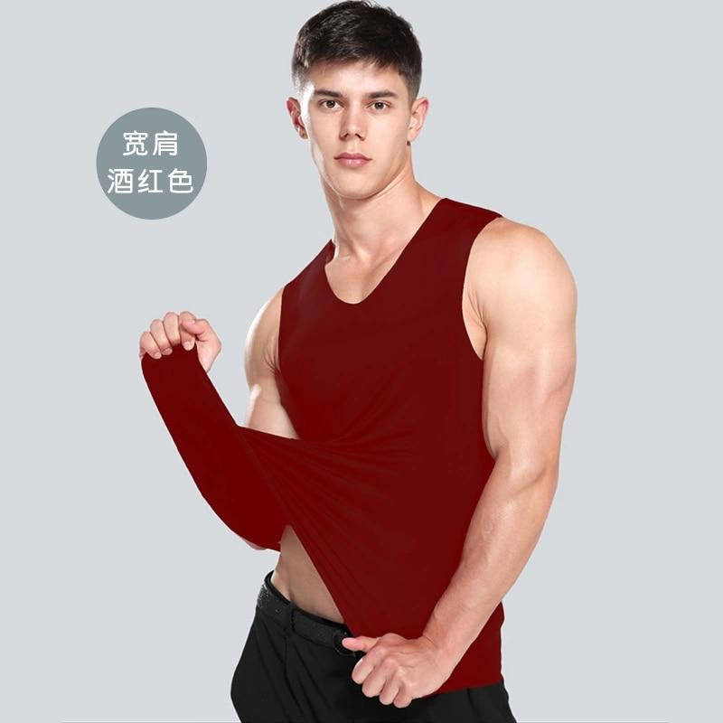 2021 Men's Tank Tops Fashion Summer Style Sleeveless Undershirts Male Bodybuilding Tank Top Casual C