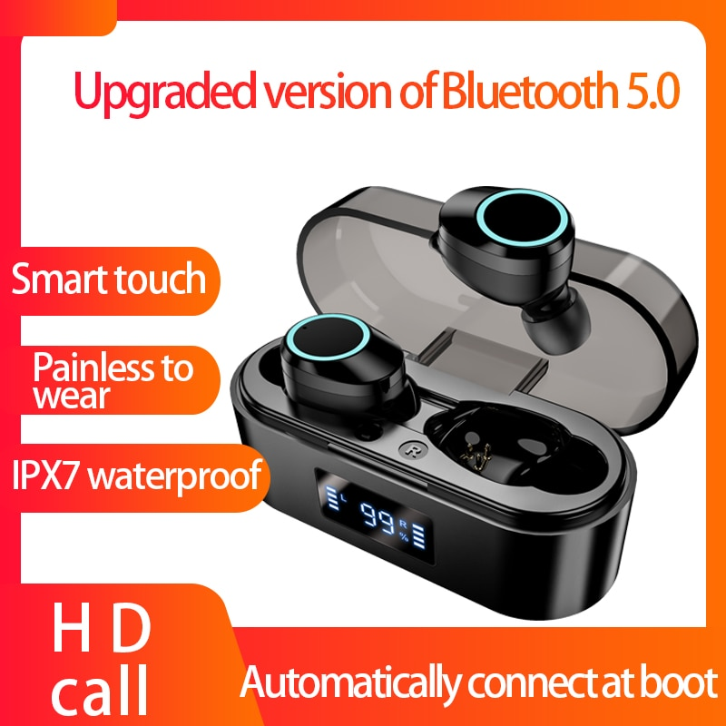 Auricular auriculares inalámbricos con Bluetooth X16 nuevo con micrófono pantalla Led 9D estéreo HIFI auriculares deportivos resistentes al agua