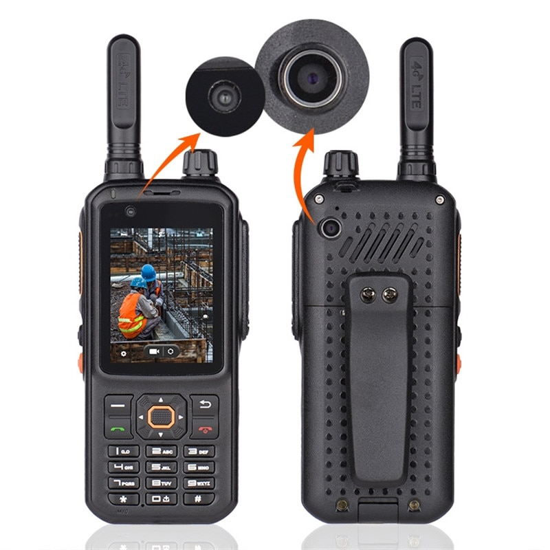 Inrico T320 4G LTE radio poc WIfi Bluetooth GPS Transceiver Dual Camera Cheapest walki talki app Network Walkie Talkie Phone