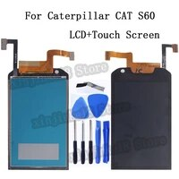4 7 for caterpillar cat s60 s 60 lcd display touch screen digitizer assembly for cat s60 mobile phone lcd display repair kit