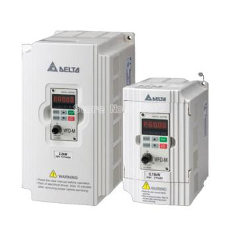 جديد الاصل VFD-M سلسلة l VFD004M21A VFD015M21A 220V /380V 0.4KW / 0.75kw /1.5kw /2.2kw العاكس
