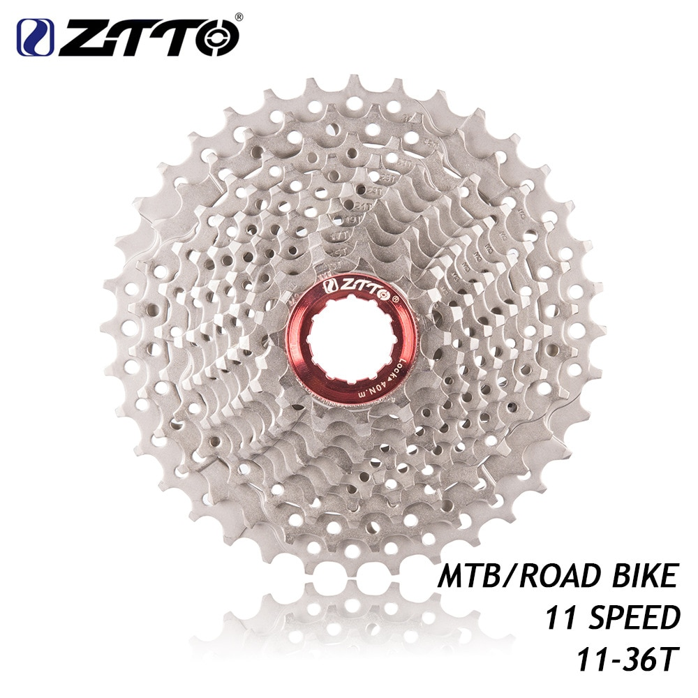Ztto 11-speed11-36t volante 11s para ut da roda dentada do cartão k7 gx rival1 force1 1x sistema cx bicicleta de estrada mountain bike bicicleta sprock