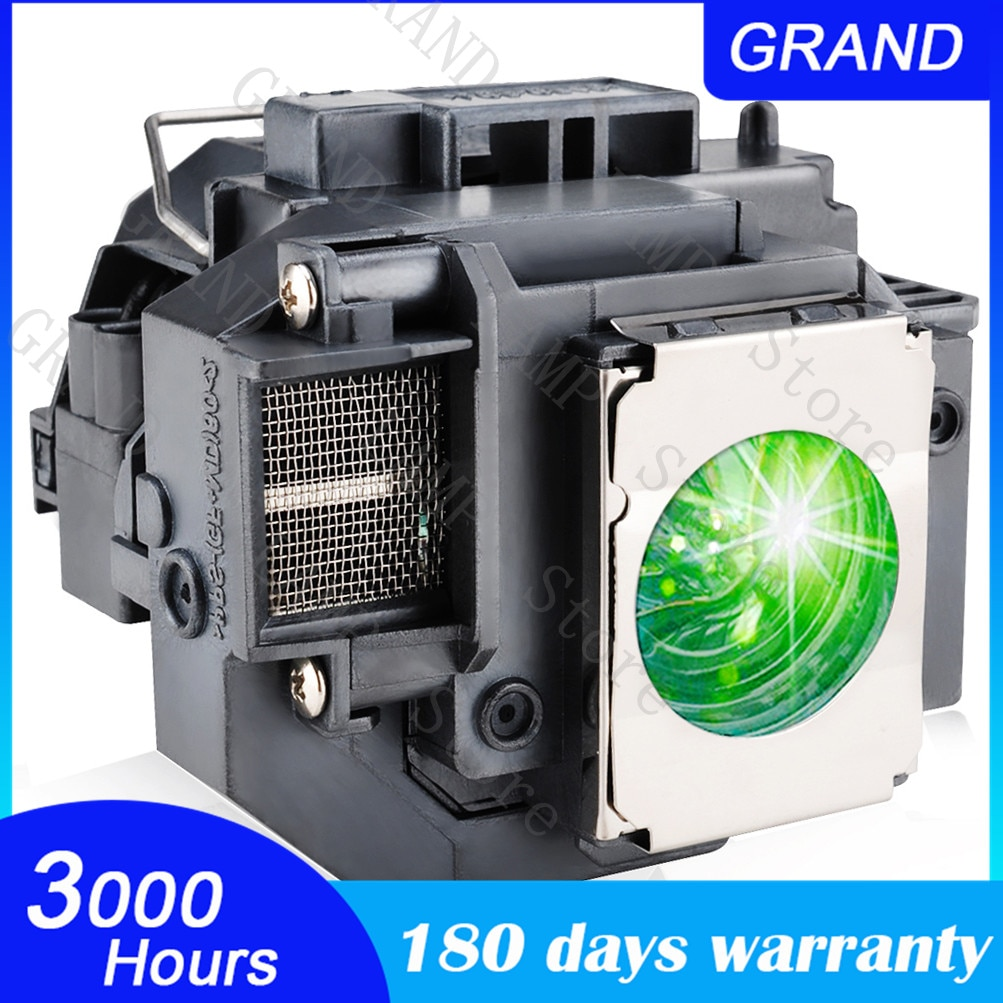 high brightness projector bulb for elplp57 for epson eb 450w eb 440w eb t450wi eb 460 h318a h343a 180 days warranty High Quality EB-S10 EB-S9 EB-S92 EB-W10 EB-W9 EB-X10 EB-X9 EB-X92 For EPSON ELPLP58 V13H010L58  Projector lamp bulb with houisng