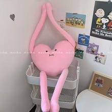High Quality 70cm Korea cute funny long legs love pillow plush toy doll cushion Pillow Kids Children's Gift birthday present